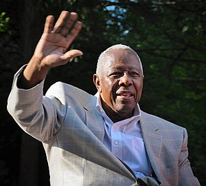 Hank Aaron - Aaron in 2013