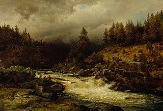 Rapids in Norway