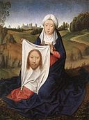 Hans Memling - St John and Veronica Diptych (right wing) - WGA14926.jpg