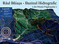 Harta 3D pentru bazinul Raului Baiasu, afluent al Oltului.jpg