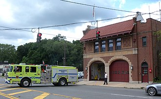 Hartsdale, New York - Hartsdale Fire Station 1
