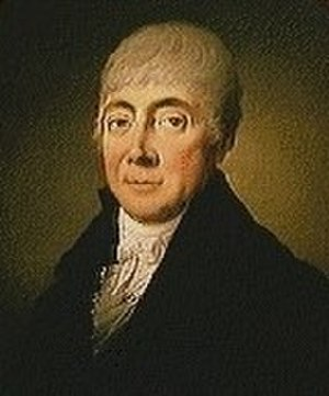Hartvig Marcus Frisch (1754–1816) - H. M. Frisch painted by Christian August Lorentzen in c. 1811