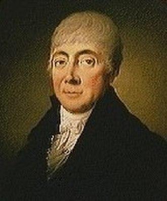 Hartvig Marcus Frisch (1754–1816) - H. M. Frisch painted by Christian August Lorentzen in c. 1811