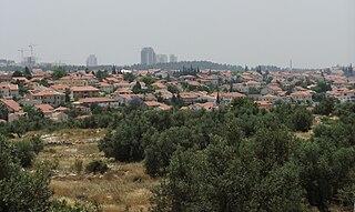 Hashmonaim Israeli settlement in the West Bank