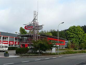 Hauenstein - Shoe shopping centre