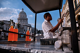 Granizado - Granizado cart in Havana, Cuba