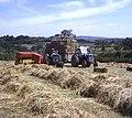 Hay baling near Pitt Farm - geograph.org.uk - 670494.jpg