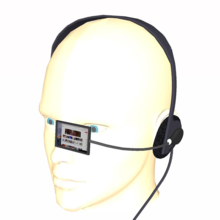 Photograph of a Headset computer