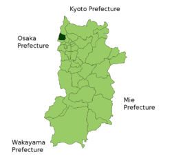 Location of Heguri in Nara
