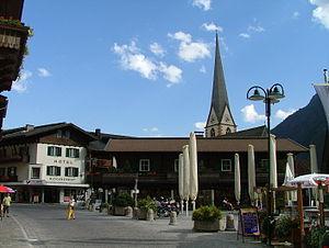 Heiligenblut am Großglockner - Main square