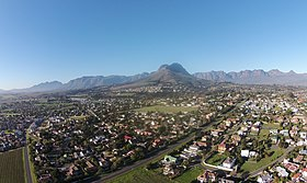 Helderberg Mountain, Somerset West, Südafrika.jpg