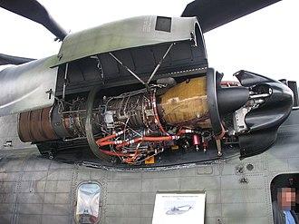 General Electric T64 - A T64-MTU-7 on a CH-53G