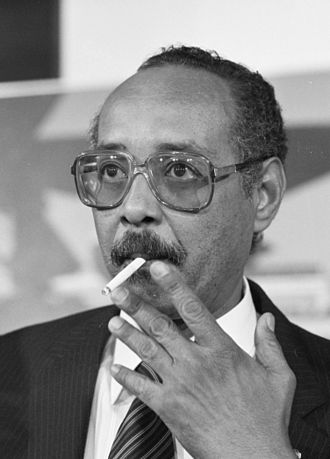 Vice President of Suriname - Image: Henck Arron 1988