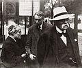 Henri La Fontaine, Frits Donker Duyvis et Charles Sustrac.jpg