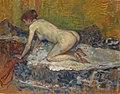Henri de Toulouse-Lautrec - Femme rousse nue accroupie.jpg