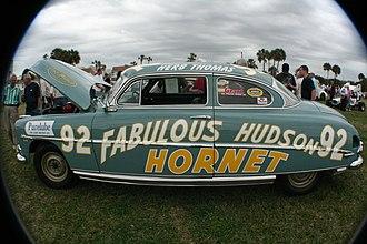 Fabulous Hudson Hornet - Image: Herb Thomas Fabulous Hudson Hornet