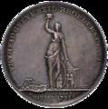 Herdenkingspenning 19 januari 1795 - 4 maart 1795 Amsterdam, voorzijde.png