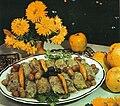 Heyvalı şabalıdlı Kələm dolması Azerbaijani cuisine.jpg