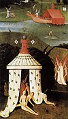 Hieronymus Bosch - Last Judgment (fragment of Paradise) - WGA02577.jpg