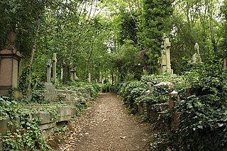 Highgate Cemetery place of burial in north London, England