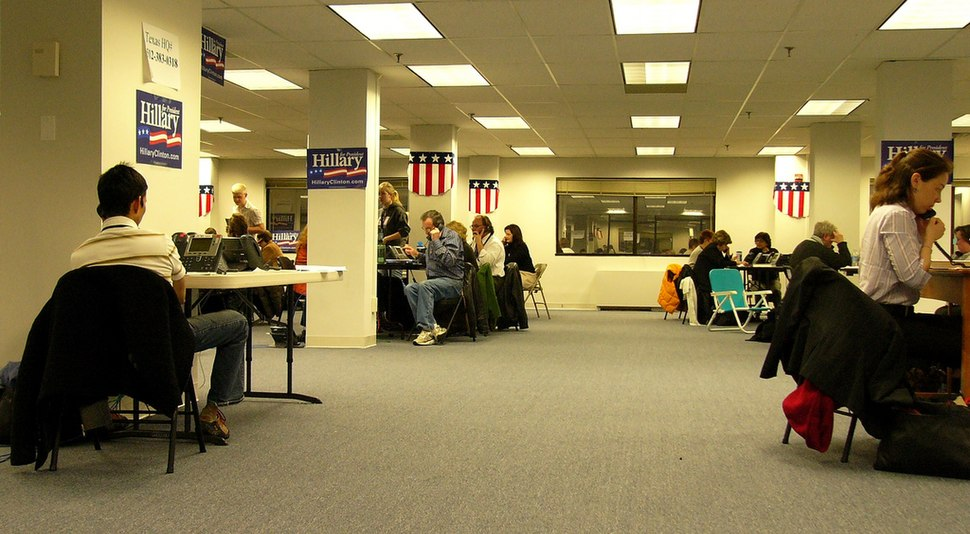 Hillary Clinton HQ 2008