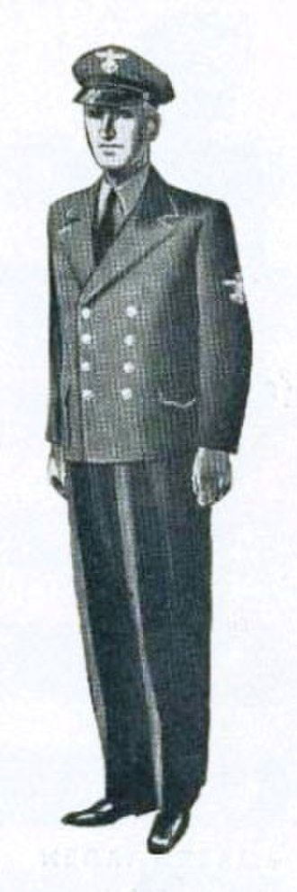 Hirden - Image: Hirdmarinens uniform