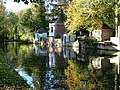 Historic gazebos on River Lea, Ware - geograph.org.uk - 108540.jpg