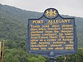 Historical sign, Port Allegany, PA.jpg
