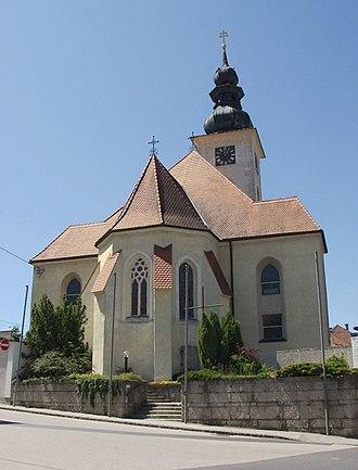 Hörsching - Image: Hoersching kirche