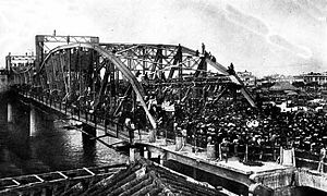 Haizhu Bridge - Old Haizhu Bridge (undated photo)