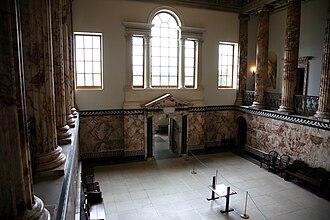 Venetian window - Venetian window at Holkham Hall in Norfolk, England, circa 1734-64