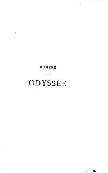 File:Homère - Odyssée, traduction Leconte de Lisle, 1893.djvu