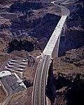 Hoover Dam Bypass Bridge construction 2010-10-12 B.jpg