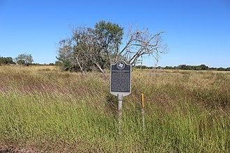 Waelder, Texas - Site of a former community in Waelder