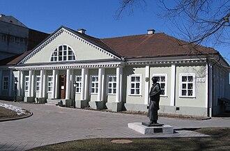 Walenty Wańkowicz - The Vankovich House in Minsk
