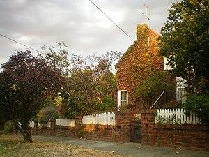 Eaglemont, Victoria - Ivy-covered house in Eaglemont
