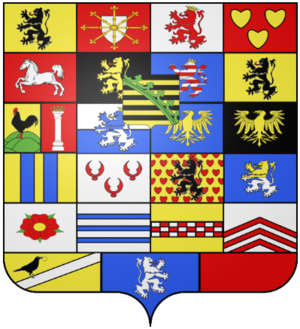 Coat of arms of Saxony - Image: House of Saxe Coburg and Gotha