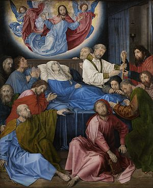 Life of the Virgin - Death of the Virgin, Hugo van der Goes, ca. 1480