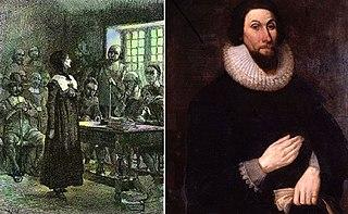 Antinomian Controversy Religious controversy in colonial America