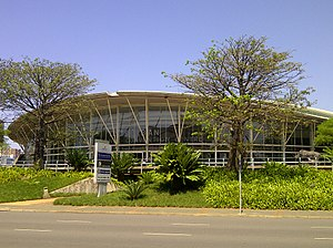 Inkosi Albert Luthuli International Convention Centre - Exterior of venue c.2014