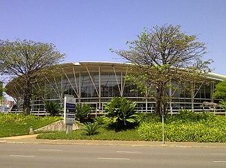 Inkosi Albert Luthuli International Convention Centre - Exterior of venue c.2014