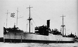 Muroto-class collier - Noshima in 1935