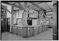 INTERIOR, CLOSER VIEW OF REGISTRATION DESK - Paradise Inn, Paradise, Pierce County, WA HABS WASH,27-PARA,1-8.tif