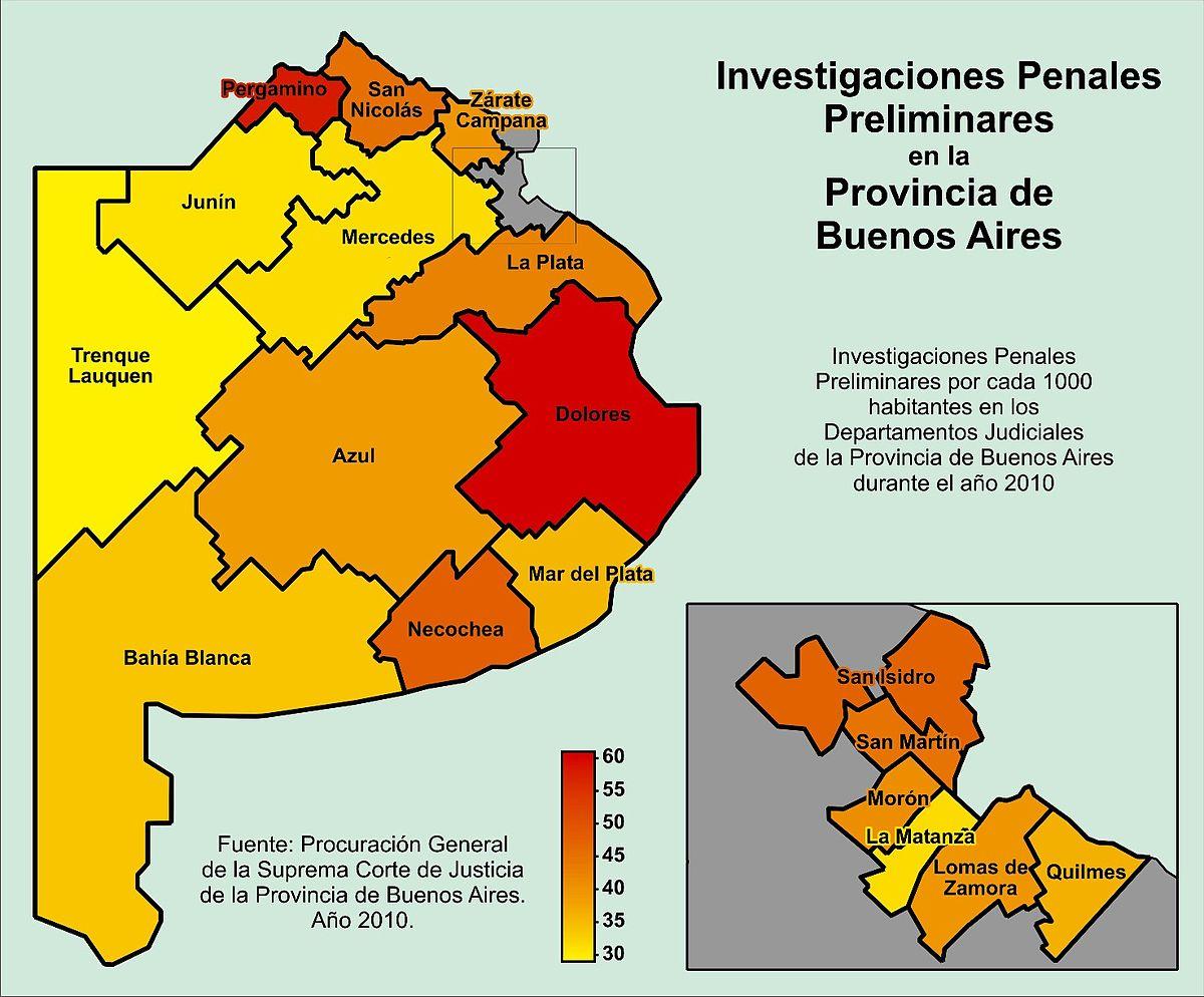 Departamentos Judiciales De La Provincia De Buenos Aires Wikipedia La Enciclopedia Libre