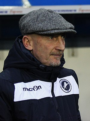 Ian Holloway - Holloway as Millwall manager in 2015