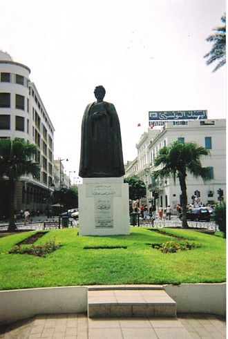 Muqaddimah - Statue of Ibn Khaldun in Tunis