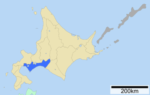 Iburi Subprefecture - Image: Iburi Subprefecture