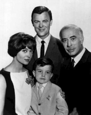 Ichabod and Me - Clockwise from top: Robert Sterling, George Chandler, Jimmy Mathers, and Christine White