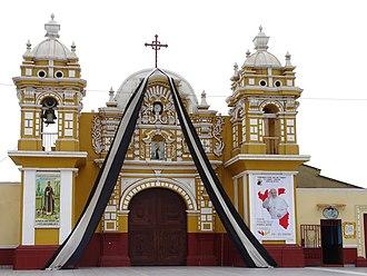 El Carmen District, Chincha - Image: Iglesia Nuestra Señora Del Carmen