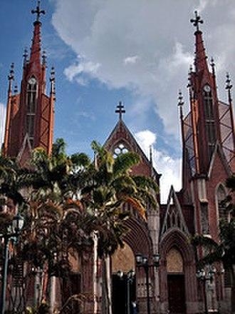 Rubio, Venezuela - Santa Bárbara de Rubio Cathedral